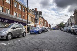 The county council is proposing to increase the pay and display hourly rate by 80p for on-street parking in the town centre