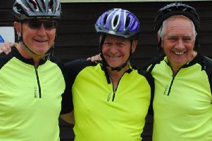 Three friends with a combined age of 202 are cycling to Istanbul this month.
