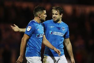 Brett Pitman and Gareth Evans has been stripped of their captaincy duties. Picture: Joe Pepler