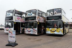Seasider open top buses have been voted in the Top 10 in the country.
