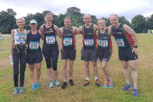 Gade Valley Harriers in action earlier this season.