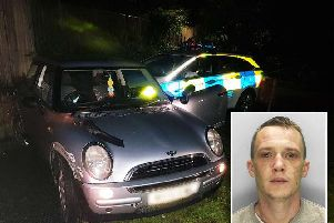 Louis Brown, of Lavington Close, Crawley. Photo: Sussex Police