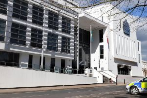 The Justice Centre in Leamington which is home to Warwick Crown Court