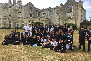 Chinese students visit Bay House School.