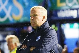 Kenny Jackett reflected on what could have been after Pompey didn't capitalise on their bright start - and lost 4-0 to Southampton. Picture: Joe Pepler/PinPep