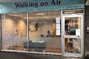 Walking On Air in Stoke Road, Gosport. Picture: Supplied