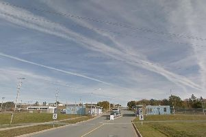 Shearwater military base in Canada. Picture: Google Maps