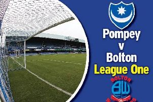 Pompey take on Bolton at Fratton Park today