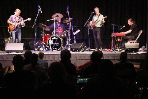 Geoff Achison and the Souldiggers. Picture by Ron Hill
