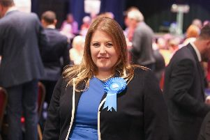 2/5/19''Story: Portsmouth local elections, Portsmouth Guildhall''Pictured:  Cllr Donna Jones''Picture: Habibur Rahman