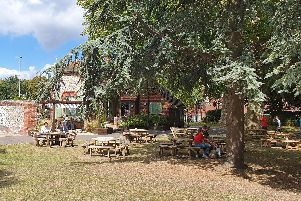 The Society of St James' Cafe in the Park, in Victoria Park, Portsmouth, close to where the charity's sleep out will take place. Picture: The Society of St James