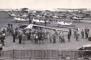 Opening of Portsmouth Airport in July 1932