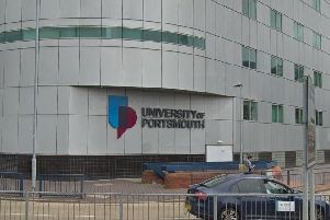 The University of Portsmouth building on Anglesea Road.