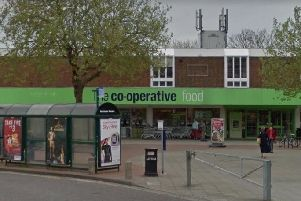 The Co-op food store in West Street, Portchester.