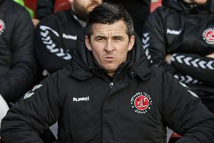 Fleetwood Town Manager Joey Barton  Picture: Daniel Chesterton/phcimages.com