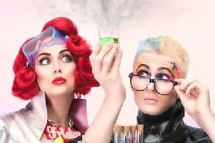 Frisky and Mannish in Pop Lab. The Spring, Havant, October 5.
