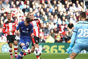 Mason Mount fires home for Chelsea against Southampton