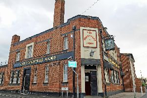The attack happened close to The Foresters Arms in Gosport. Picture: Sarah Standing (114261-4405)