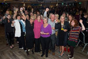 Teach Portsmouth Awards at the Gaiety bar, Southsea. Pictured : All the winners of the night. Picture : Habibur Rahman