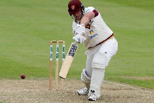 Richard Levi has signed a contract extension to stay at Northants