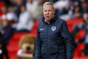 Pompey manager Kenny Jackett  Picture: Daniel Chesterton