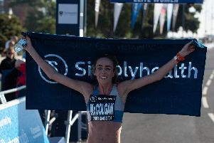 The Great South Run 2018 winner Eilish McColgan will be back to defend her title. Picture: Vernon Nash (_DF79605)
