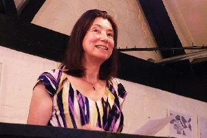 Robyn Bolam, Hampshire Poet Laureate 2018.