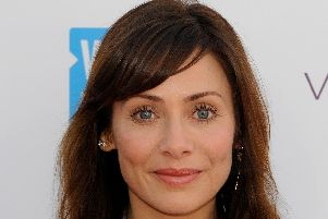 Singer and actress Natalie Imbruglia who has given birth to a little boy via IVF sperm donation. Pic:  Andrew Matthews/PA Wire