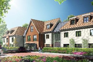A CGI representation of the new care home in Barnes Lane, Sarisbury Green. Picture: WPR