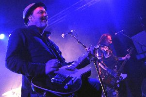 The Levellers at The Wedgewood Rooms, Southsea on October 11, 2019. Picture by Paul Windsor