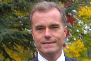 Cllr James Jamieson, leader of Central Bedfordshire Council