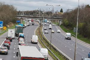 Traffic on the M6 (stock picture)