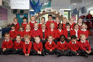 Here are some of the reception children from Highbury Primary School last year