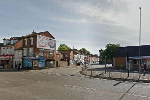 The incident took place in Lorne Road, police today confirmed.