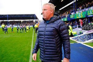 Pompey manager Kenny Jackett. Picture: Graham Hunt