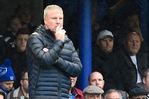 Kenny Jackett has been heartened by Pompey's training attitude - and want's that replicated in league challenges. Picture: Graham Hunt/ProSportsImages