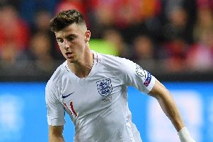 Mason Mount earned his third England cap - and first start against the Czech Republic last week. Picture: Justin Setterfield/Getty Images