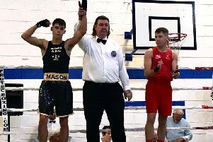 Charley Mason, victorious in Ireland