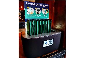 The Wine Vaults pub in Albert Road, Southsea, has brought in a new station that allows punters to pay 50p per 30 minutes to charge up their devices. These can even be taken to other local pubs and dropped off, including the Deco in Elm Grove. Picture: Wine Vaults