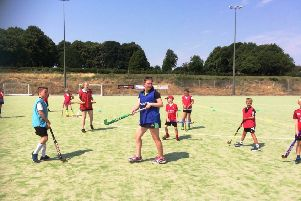 A fundraising event at Louth Hockey Club last year.