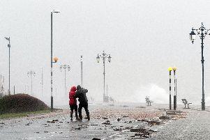 Gale force winds will batter Portsmouth over next 24 hours. Picture: Keith Woodland.