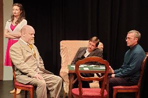 HumDrum's production of Agatha Christie's Spider's Web.