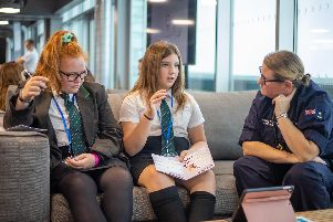 Maritime Roadshow aims to inspire the next generation of female engineers.