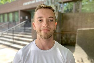 Harry Middleton, 21, of Havant, was cleared of attempted murder at Portsmouth Crown Court in what he told jurors was a failed suicide attempt in front of his former girlfriend. Picture: Ben Fishwick