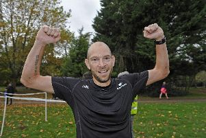 Havant parkrun winner Paul Mitchinson