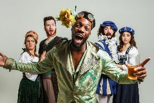 Sh*t-Faced Shakespeare are performing A Midsummer Night's Dream at New Theatre Royal on November 2, 2019. Picture by Rah Petherbridge
