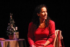 The Lady in Red, a play about domestic abuse is at The Wedgewood Rooms, Southsea.