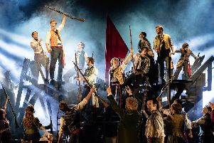 Les Miserables is currently at Mayflower Theatre, Southampton. Picture by Helen Maybanks.