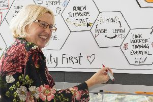 Emma Paxton, founder of Imagistic and graphic recorder and illustrator.