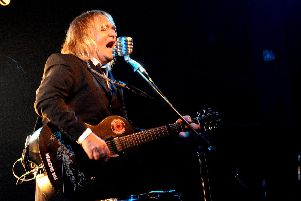 Mike Peters at the Wedgewood Rooms, Southsea. Picture: Paul Windsor